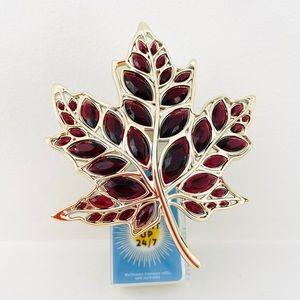 Bath and Body Works Gem Gold Leaf Wallflower Plug
